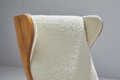 S ren Willadsen M belfabrik Wingback Chair by Danish Cabinetmaker S ren Willadsen Denmark 1960s - 1193650