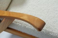 S ren Willadsen M belfabrik Wingback Chair by Danish Cabinetmaker S ren Willadsen Denmark 1960s - 1193651