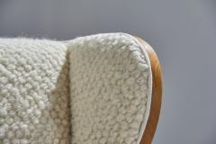 S ren Willadsen M belfabrik Wingback Chair by Danish Cabinetmaker S ren Willadsen Denmark 1960s - 1193654