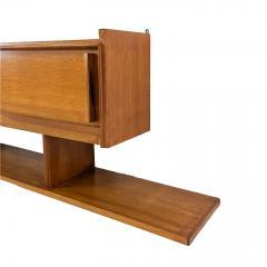 SAM Soci t Auxiliaire du Meuble Wall cabinet and bookshelf SAM Edition 1950 - 2090665