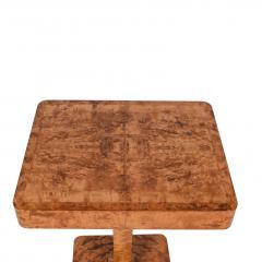 SMF Svenska M belfabriken Bodafors Swedish Art Deco side table for Bodafors 1930s - 1540306