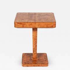 SMF Svenska M belfabriken Bodafors Swedish Art Deco side table for Bodafors 1930s - 1540323