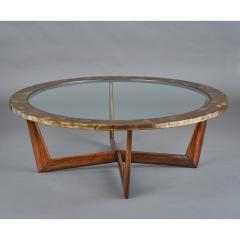 STUDIO L ART DE VIVRE Les Feuilles dOr Coffee Table - 1362092