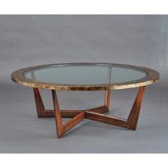 STUDIO L ART DE VIVRE Les Feuilles dOr Coffee Table - 1362112