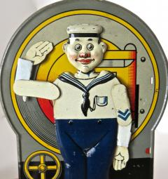 Saalheimer Strauss Mechanical Bank Saluting Sailor Circa 1920s - 472310