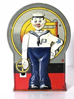 Saalheimer Strauss Mechanical Bank Saluting Sailor Circa 1920s - 474630