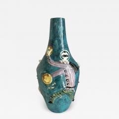San Polo San Polo Venezia Italian Harlequin Ceramic Vase - 1727384
