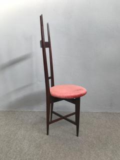 Santambrogio De Berti Charming Set of Four Dining Chairs by Santambrogio e De Berti - 1004199