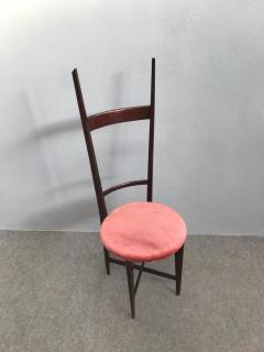 Santambrogio De Berti Charming Set of Four Dining Chairs by Santambrogio e De Berti - 1004200