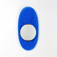 Santambrogio De Berti Chic Oval Curved Mirror - 1290848