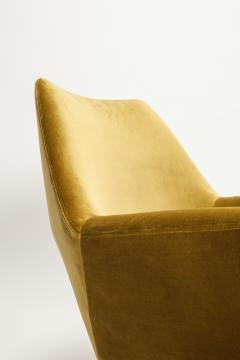Saporiti Augusto Bozzi Swivel chair Saporiti Italy 60s - 2067514