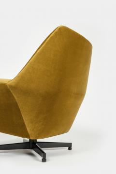 Saporiti Augusto Bozzi Swivel chair Saporiti Italy 60s - 2067536