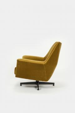 Saporiti Augusto Bozzi Swivel chair Saporiti Italy 60s - 2067540
