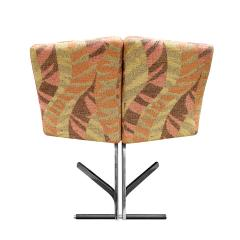 Saporiti Saporiti Set Of 4 Sculptural Dining Game Chairs 1970s Signed  - 1462679