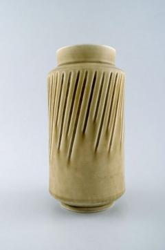 Saxbo Eva St hr Nielsen for Saxbo large stoneware vase in modern design - 1303804