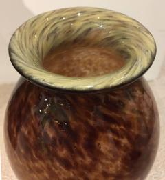 Schneider Pair of Glass Blown Vases circa 1910 Signed SCHNEIDER - 408396