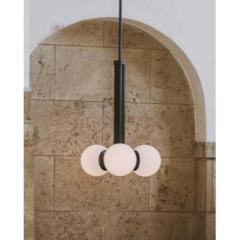 Schwung Black Contemporary Pendant Light by Schwung - 1840724