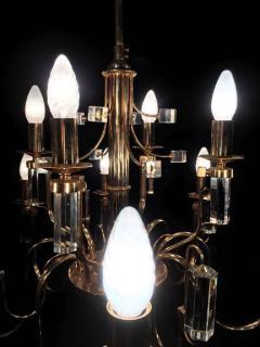 Sciolari Lighting Fine Crystal Sciolari Chandelier 1970s - 665787