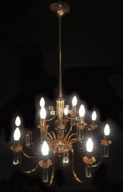 Sciolari Lighting Fine Crystal Sciolari Chandelier 1970s - 665788