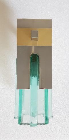 Sciolari Lighting Pair of Mid Century Modern 2 Tone Sciolari Wall Sconces - 657516