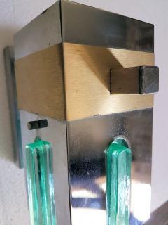 Sciolari Lighting Pair of Mid Century Modern 2 Tone Sciolari Wall Sconces - 657518