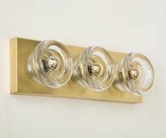 Sciolari Lighting Sciolari 3 Light Brass Sconces - 774366