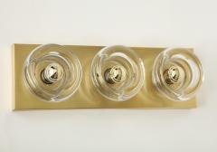 Sciolari Lighting Sciolari 3 Light Brass Sconces - 774367