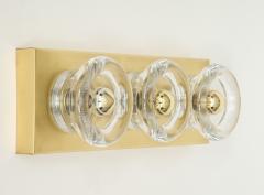 Sciolari Lighting Sciolari 3 Light Brass Sconces - 774369