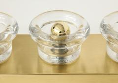 Sciolari Lighting Sciolari 3 Light Brass Sconces - 774372