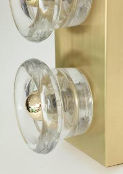 Sciolari Lighting Sciolari Cosack Brass and Glass Sconces - 912809