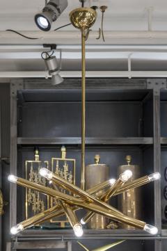 Sciolari Lighting Twelve Lights Brass Sciolari Chandelier - 1174457