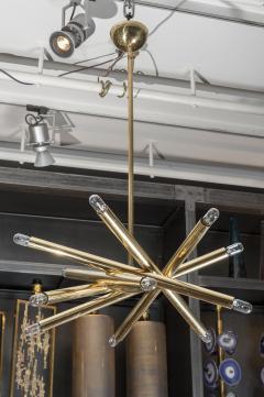 Sciolari Lighting Twelve Lights Brass Sciolari Chandelier - 1174458