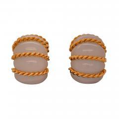 Seaman Schepps Seaman Schepps chalcedony shrimp earrings - 1475280