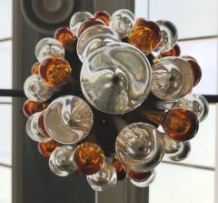 Seguso Late 1950s Ceiling Light in Murano Glass - 424635