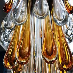 Seguso Late 1950s Ceiling Light in Murano Glass - 424636