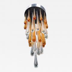 Seguso Late 1950s Ceiling Light in Murano Glass - 425495