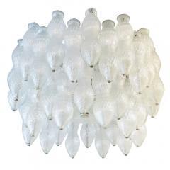 Seguso Seguso Murano Glass Chandelier Italy 1960s - 659208
