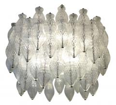 Seguso Seguso Murano Glass Chandelier Italy 1960s - 659209
