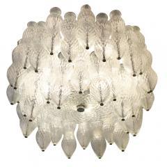 Seguso Seguso Murano Glass Chandelier Italy 1960s - 659210