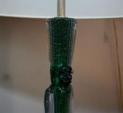 Seguso Seguso Tabe Lamp Mid Century Modern Murano Art Glass Italy 1950s - 1085788