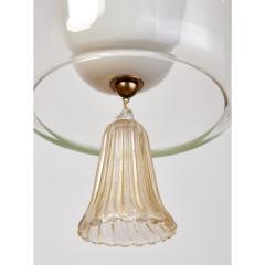 Seguso Verti d Arte Pair of Blown Glass Seguso Lantern Italy 1950s - 1899273