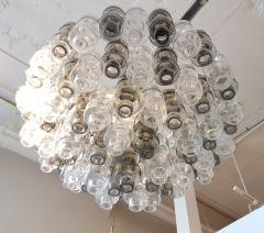 Seguso Vetri dArte Murano Glass Mid Century Modern Seguso Barbell Chandelier Flush Mount - 596888