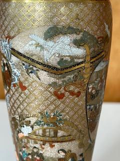 Seikozan Exquisite Japanese Satsuma Vase by Seikozan - 2169709
