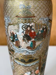 Seikozan Exquisite Japanese Satsuma Vase by Seikozan - 2169710