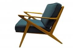 Selig Furniture Co 1950s Z Chair By Poul Jenson For Selig Furniture Co    147691
