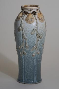Sevres Manufacture Nationale de S vres Ceramic Vase Decorated by Paul Milet and Emile Belet - 1030669