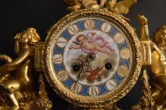 Sevres S vres Porcelain with Dor Bronze Clock - 336733