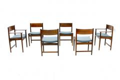 Sibast Furniture Co Set of Six Kurt Ostervig Dining Chairs for Sibast Denmark 1960s - 794475