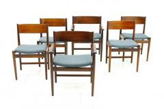 Sibast Furniture Co Set of Six Kurt Ostervig Dining Chairs for Sibast Denmark 1960s - 794476