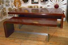 Sibast Furniture Co Stunning Modern Custom Rosewood Desk Suite - 435525